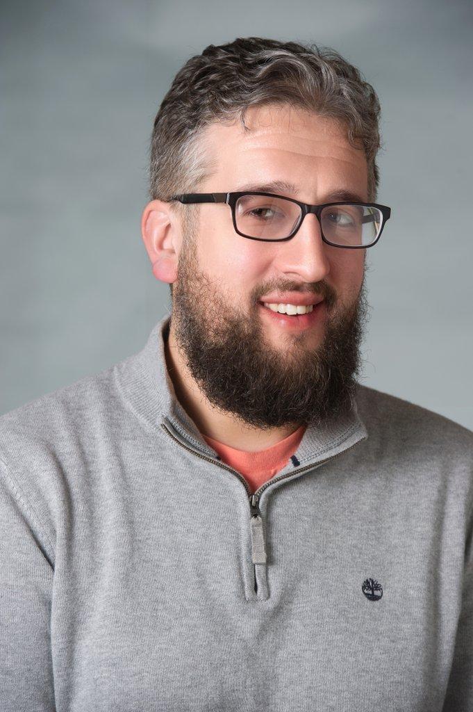 portrait of Shawn Tishler